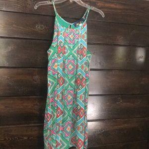 Aztec Flowy Dress